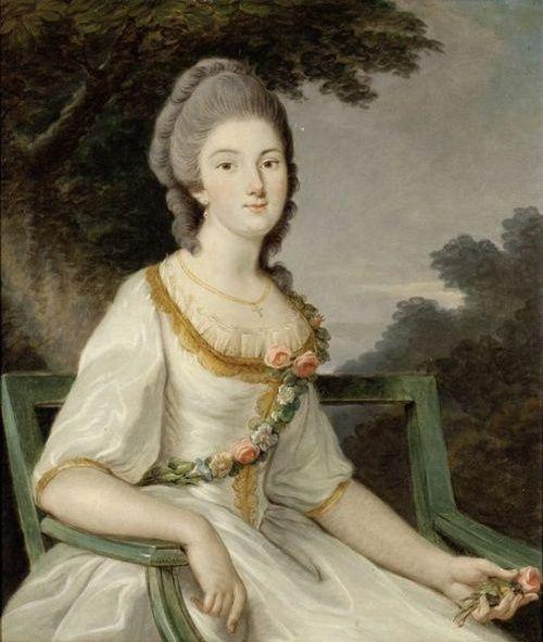 """"""" Pour paraître à la Cour = les habits de Marie-Fortunée d'Este .."""" par Aurélie Chatenet - Calyste Fortun10"""