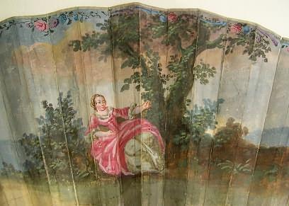 Les éventails au XVIIIe siècle G10