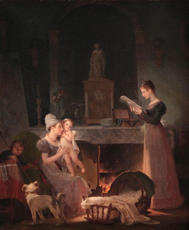 Gérard - L'artiste peintre Marguerite Gérard La_lec10