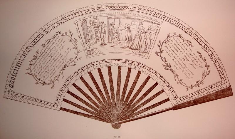Les éventails au XVIIIe siècle Lady_c10