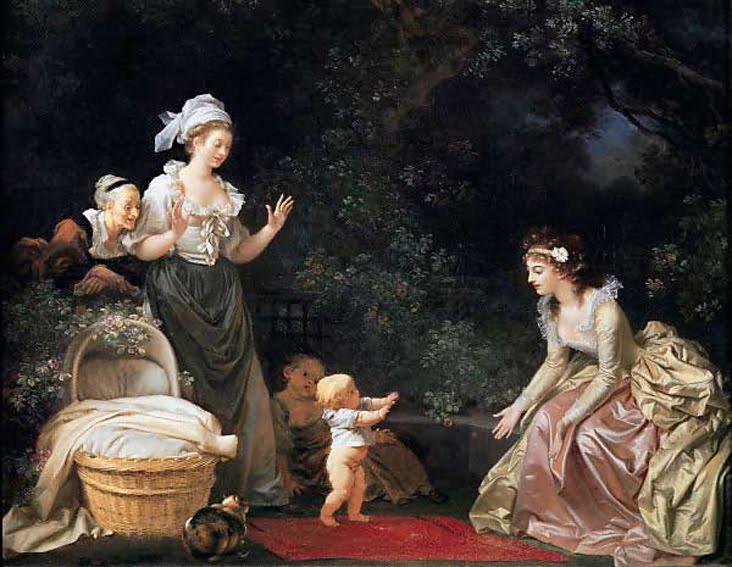 Gérard - L'artiste peintre Marguerite Gérard Le_pre11