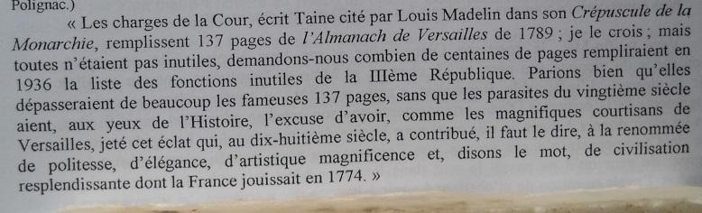 Les Polignac et la publication du Livre rouge Liv10
