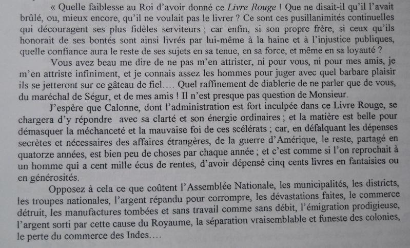 Les Polignac et la publication du Livre rouge Livre_20