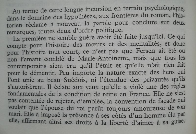Emission Au coeur de l'histoire : Fersen et Marie Antoinette - Page 2 N_impo15