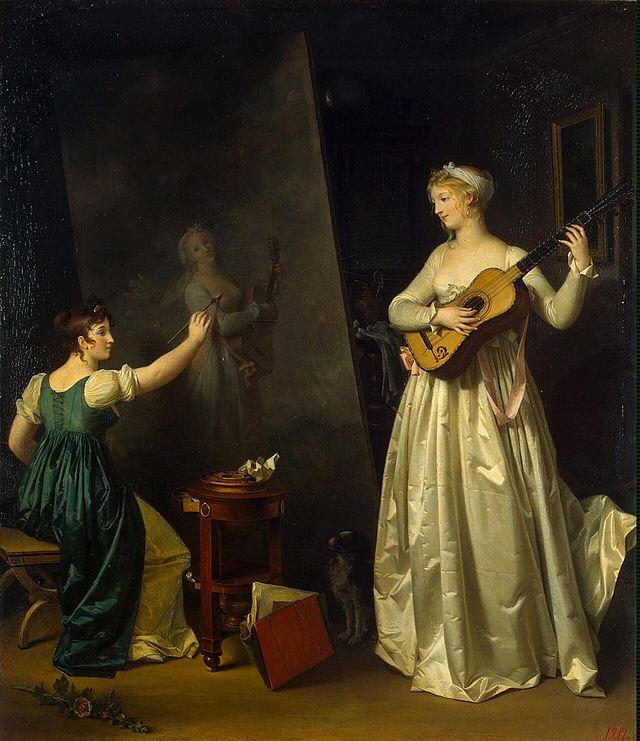 Gérard - L'artiste peintre Marguerite Gérard Peintr10