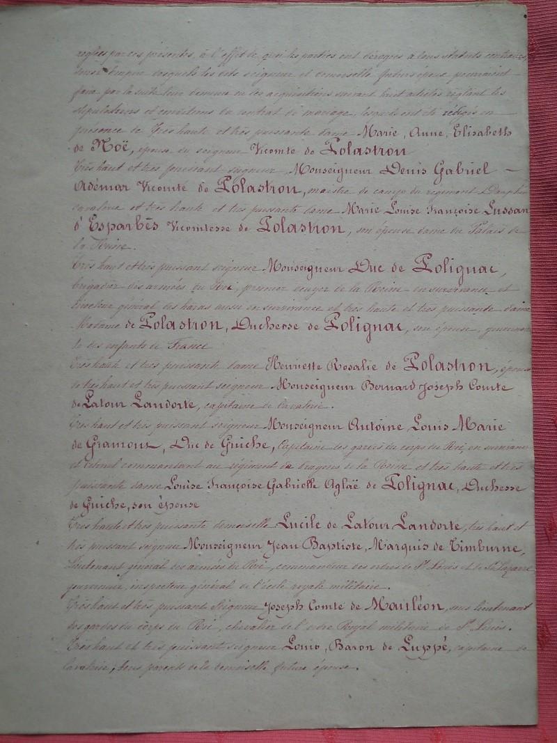 La famille de  Polastron Polast16