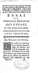 """Emergence de la """"pédiatrie"""" dans les """"maisons"""" des enfants royaux au XVIIIème siècle V10"""
