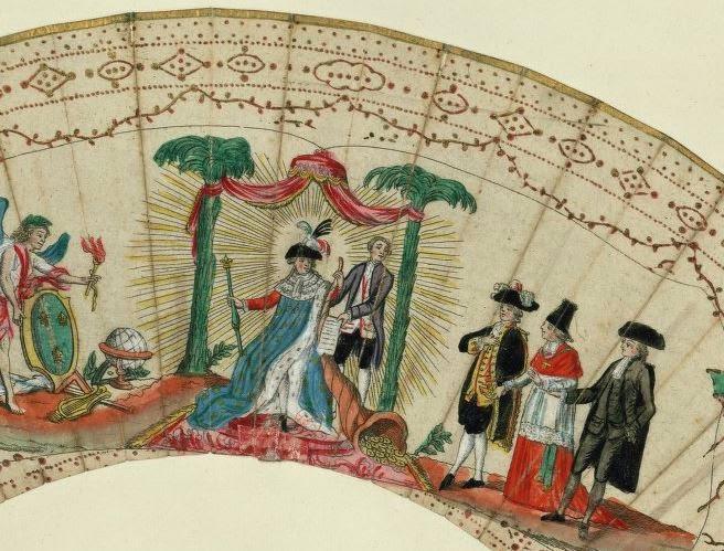 Les éventails au XVIIIe siècle Yventa10