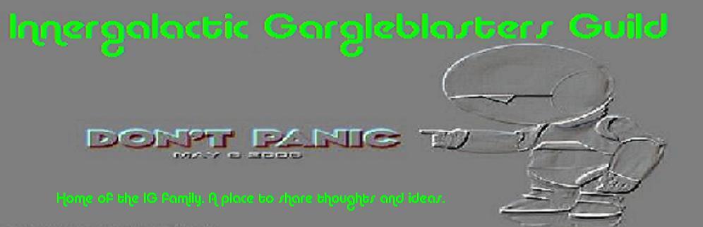 Innergalactic Gargleblasters Guild