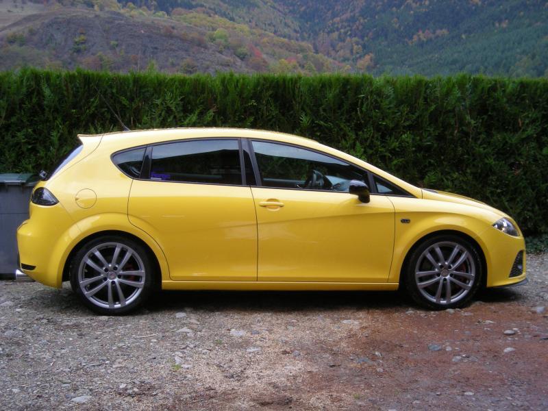 Ma voiture actuelle, une Seat Leon CupRa 2L TFSI 240..... Dscn1911