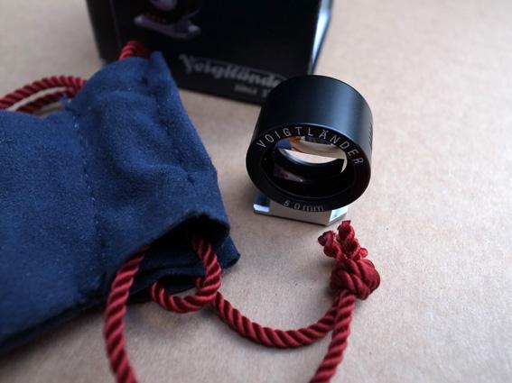 Viseur optique Voigtlander 50mm ***** BAISSE DE PRIX ! C210