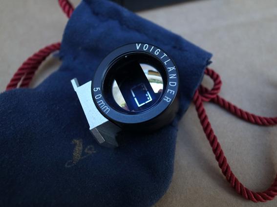 Viseur optique Voigtlander 50mm ***** BAISSE DE PRIX ! C310