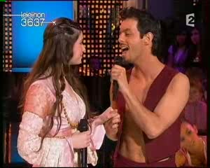[Capture vidéo] Nuno & Florence Coste Téléthon 2007 Vlcsna70