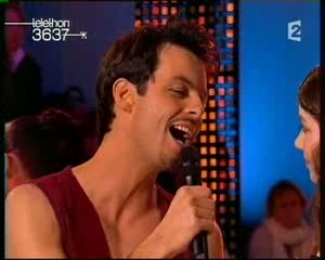 [Capture vidéo] Nuno & Florence Coste Téléthon 2007 Vlcsna72