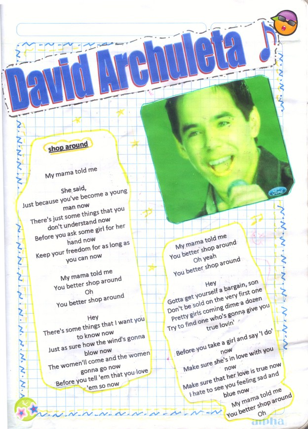 chan chan chan...xD Ahora mi Archie-cuaderno! ^^ 112