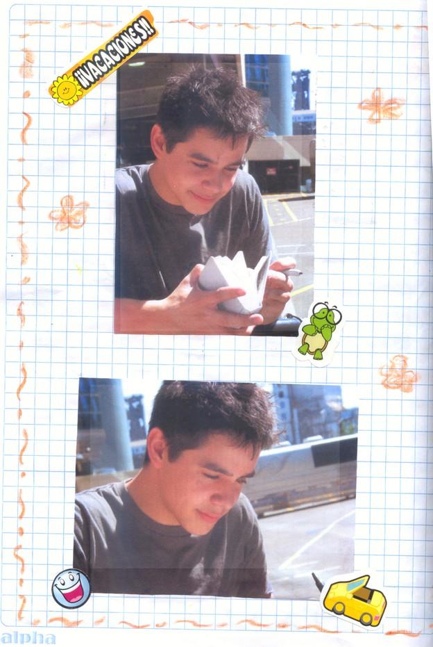 chan chan chan...xD Ahora mi Archie-cuaderno! ^^ 1410