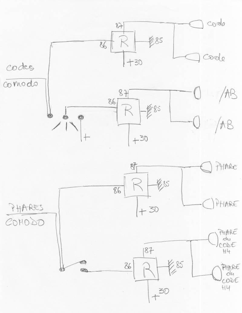 montage relais