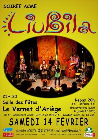 Concert au Vernet d'Ariège Samedi 14 Février Liubil12