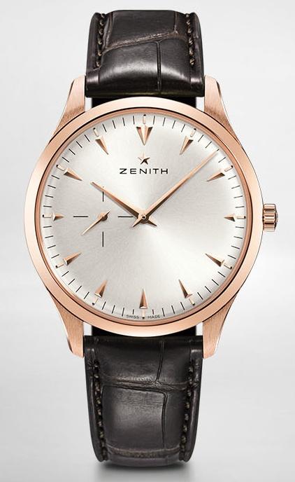Vos plus belles montres habillées en or rose ou jaune - Page 4 Zenith10