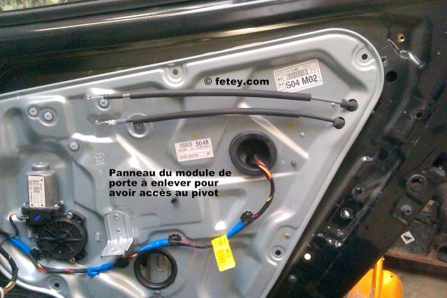 Hyundai Elantra 2007, portes arrières n'ouvrent plus 2015-016