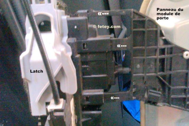 Hyundai Elantra 2007, portes arrières n'ouvrent plus 2015-018