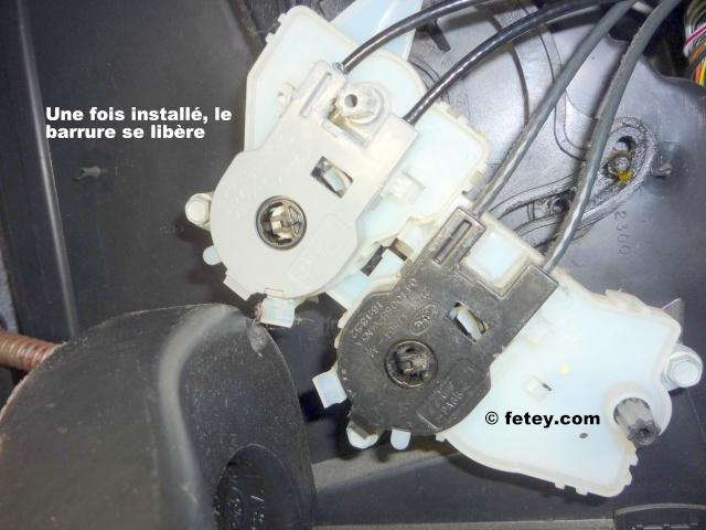Ford Focus ZX5 SES 2005 2L, contrôle des trappes de ventilation brisé P1120215