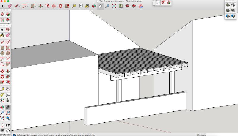 Projet - Toit sur terrasse E6810510