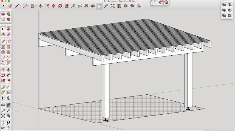 Projet - Toit sur terrasse Fd761110