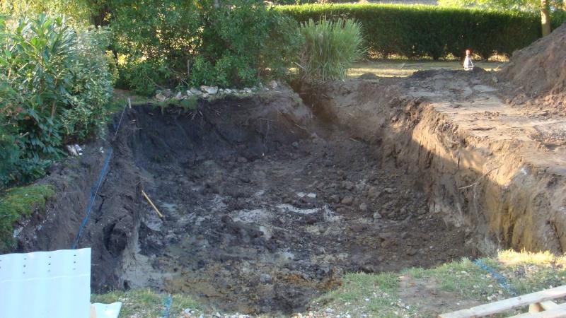 probleme d'eau dans le fond du trou Travau11