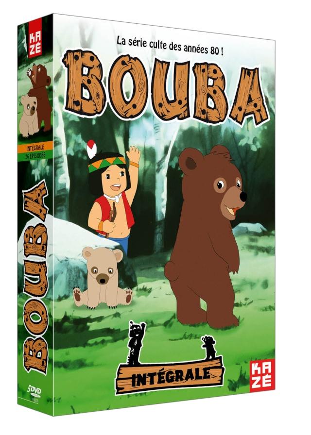Coffret DVD Bouba le petit ourson chez Kaze Bouba-10