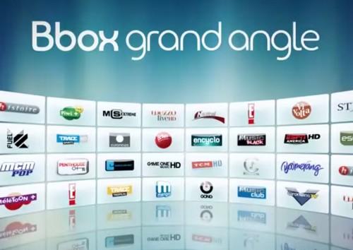Bouquet Bbox grand angle en partie offert du 2 juillet au 20 août sur la Bbox Bboxgr10