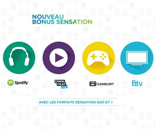 Bouygues Telecom intègre 4 bonus au choix dans  les forfaits Sensation - Page 2 Bonus10