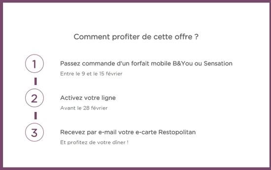 Bouygues Telecom vous invite au restaurant pour la Saint-Valentin Diner_10