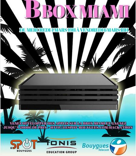 Bouygues Telecom et Epitech organisent un hackathon Bbox Miami Hackth10
