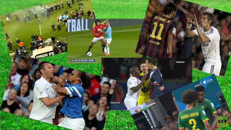 أقوى المشاجرات في عالم كرة القدم 2014 54a3d810