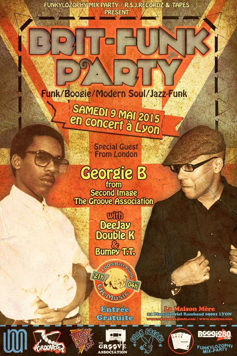BRIT-FUNK PARTY FEAT GEORGIE B(SECOND IMAGE) DEEJAY DOUBLE K & BUMPY T.T. Brit-f10