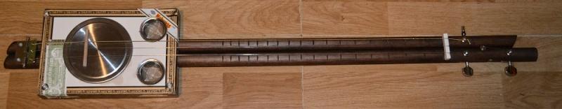 Lap Steel Cigar Box Guitar  Dsc_1317