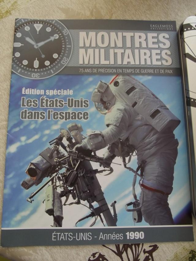 Collection montres militaires Hors série n°1 Les  états-unis dans l'espace Dscf4526