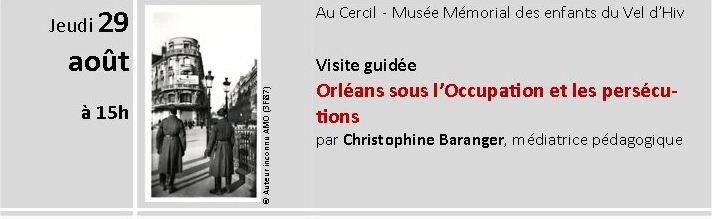 ORLEANS - Visites guidées juillet et Août 2013 - Orléans sous l'occupation et les persécutions Captur11