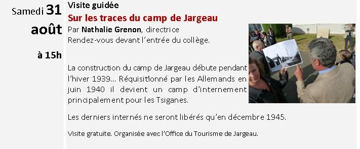 JARGEAU - Visite guidée 31 Août 2013 sur les traces du camp de Jargeau Captur12