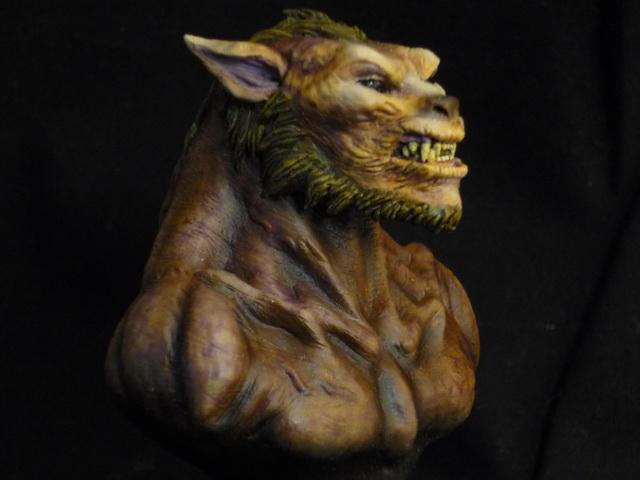 Lycan Underworld bust 1/10 Droite10