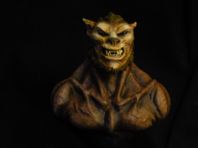 Lycan Underworld bust 1/10 Face10