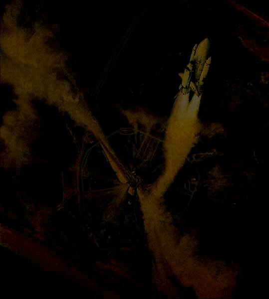 Image; peinture decollage shuttle Copie_10