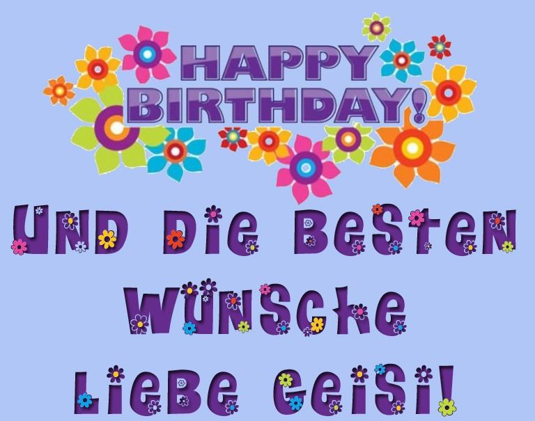 Happy Birthday Geisi Erqw10