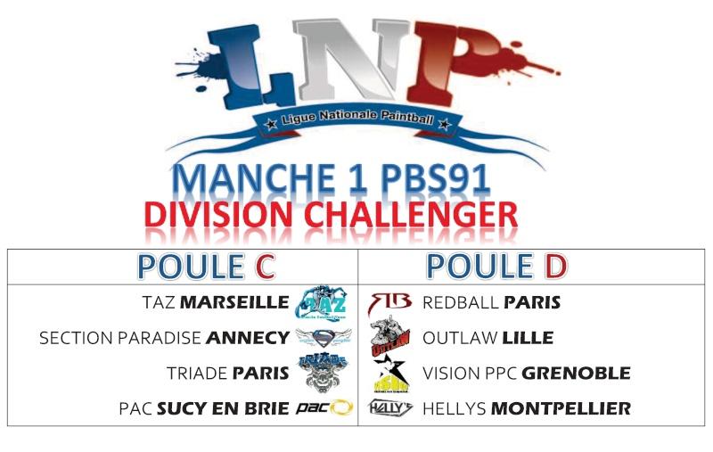 Les Triade en Ligue Nationale de paintball Challe10