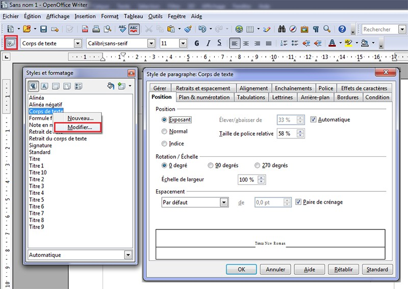 [Tutoriel] Mise en page avec Open Office Apache 4.1.1  1310