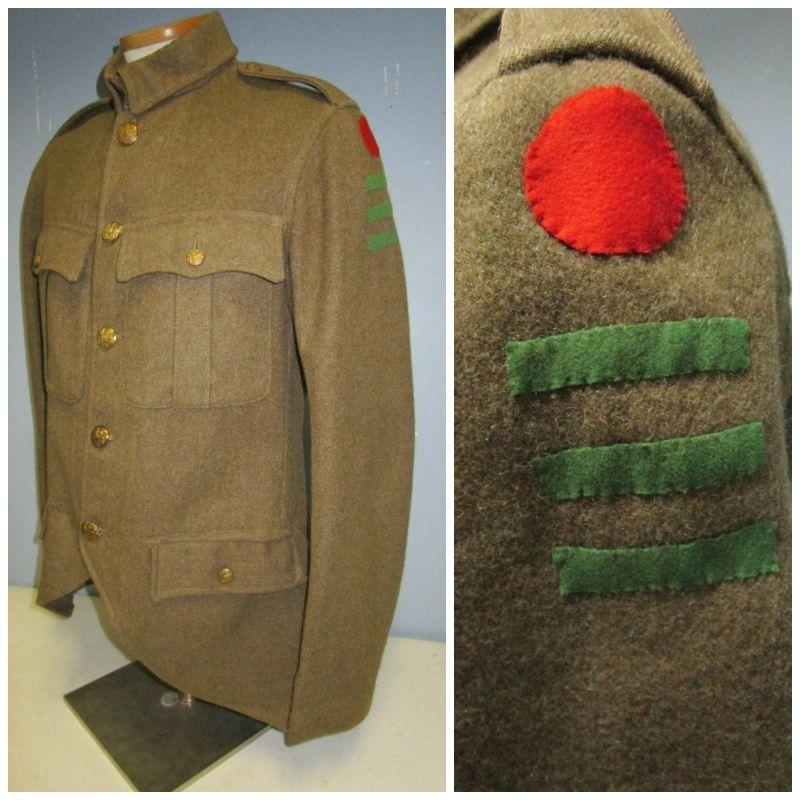 English badge of division. Sans-t10