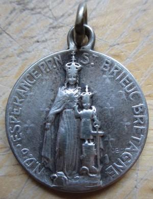 les médailles alus et argent  14b11