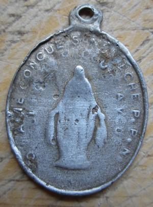 les médailles alus et argent  3411
