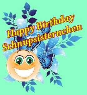 Happy Birthday Schnupsisternchen Catsss10